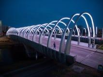 Puente del bicentenario, ou pont bicentenaire image libre de droits