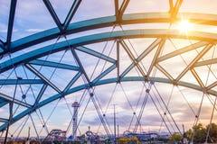 Puente del bulevar de Speer fotos de archivo