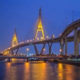 Puente del círculo de la industria en Bangkok Foto de archivo libre de regalías