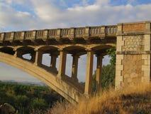 Puente del camino Imagen de archivo libre de regalías