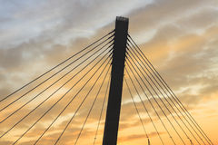 Puente del camino fotografía de archivo libre de regalías