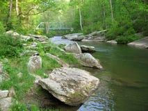 Puente del camino de las caídas Imagen de archivo