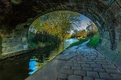 Puente del canal imagen de archivo