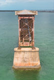 Puente del carril de Bahía Honda fotos de archivo libres de regalías