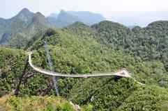 Puente del cielo de Langkawi imagen de archivo libre de regalías