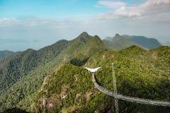 Puente del cielo de Langkawi Fotos de archivo libres de regalías