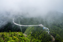 Puente del cielo de Langkawi Imagen de archivo