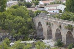 Rural Tourism in Spain. Puente del Congosto, Salamanca Province, Spain: June 7, 2019: The name Puente del Congosto Bridge of the Congosto is apocopic from Puente royalty free stock image