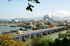 puente del Cruz-mar Fotos de archivo