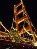 Puente del día de fiesta Foto de archivo libre de regalías