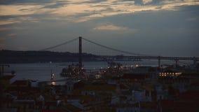 Puente del 25 de abril metrajes