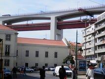 Puente del 25 de abril Foto de archivo