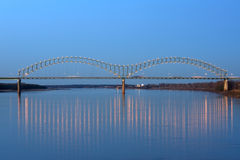 Puente del deSoto de Hernando Fotos de archivo