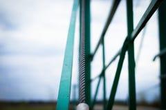 Puente del puente en cuerdas fotografía de archivo