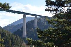 Puente del Europa en Austria imagen de archivo