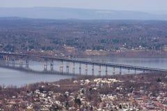 Puente del faro de Newburgh Foto de archivo libre de regalías