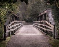 Puente del ferrocarril de Repurposed Imágenes de archivo libres de regalías