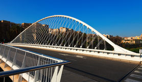 Puente del Hospital over Segura river. Murcia, Spain Royalty Free Stock Photography