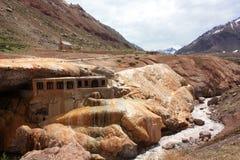 Puente del Inca Royalty-vrije Stock Afbeeldingen