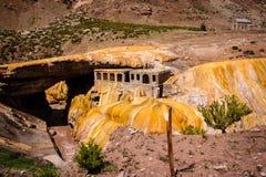 Puente Del Inca Lizenzfreie Stockfotos