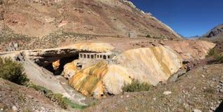 """Puente del Inca """"The Inca's Bridge"""" stock images"""