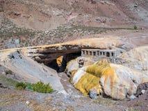 Puente del Inca, The Incas Bridge Royalty Free Stock Photography