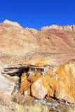 Puente Del Inca, Inkas überbrücken Naturdenkmal, Mendoza, Argentinien Lizenzfreie Stockfotografie