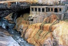 Puente del Inca, Mendoza, la Argentina Fotos de archivo