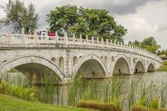Puente del jardín de 2016 chinos Fotos de archivo