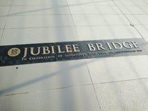 Puente del jubileo, Singapur Foto de archivo