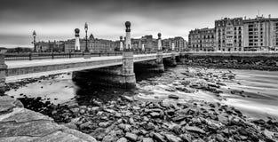 Puente del Kursaal Royalty Free Stock Photos