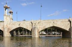 Puente del Mar (Bridge of the sea), Valencia, Spain Stock Photography
