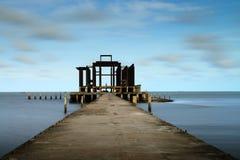Puente del mar de Tailandia fotos de archivo