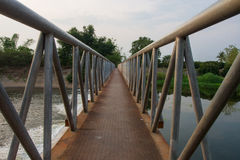 Puente del metal fotos de archivo