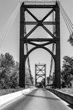 Puente del metal foto de archivo libre de regalías