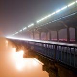 Puente del metro Fotos de archivo