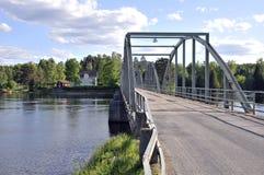 Puente del milenio Fotos de archivo