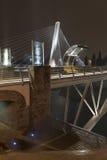 Puente del milenio Foto de archivo