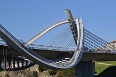 Puente del milenio Imagenes de archivo
