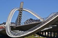 Puente del milenio Fotografía de archivo