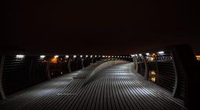 Puente del milenio imágenes de archivo libres de regalías