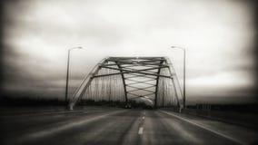 Puente del monumento de Amelia Earhart imágenes de archivo libres de regalías