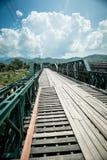 Puente del monumento de la guerra 2 del wolrd de Tha Pai Imágenes de archivo libres de regalías