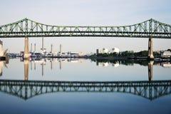 Puente del monumento de Tobin imagen de archivo