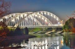 Puente del monumento de Vimy Fotos de archivo libres de regalías