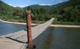 Puente del país Imagen de archivo libre de regalías