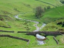 Puente del packhorse de Smardale Imagen de archivo
