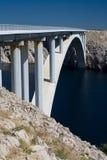Puente del Pag fotografía de archivo libre de regalías