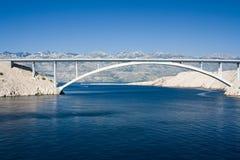 Puente del Pag fotografía de archivo