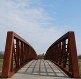 Puente del parque Imagen de archivo libre de regalías